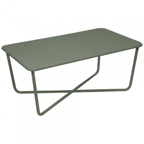 CROISETTE TABLE BASSE, 23 couleurs de FERMOB
