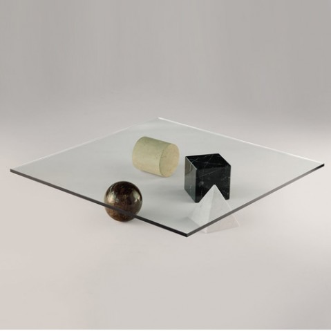 METAFORA - TABLE BASSE, 4 options de MARTINELLI LUCE