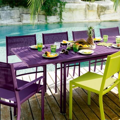 table allonge costa fermob reglisse