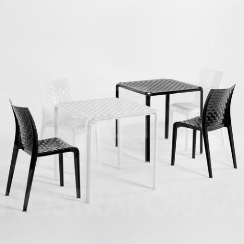table ami ami kartell noir opaque