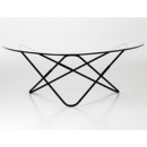 table basse ao airborne noir  transparent