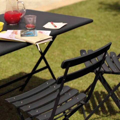 table pliante arc en ciel 110 emu bleu