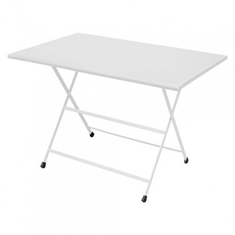 table pliante arc en ciel 110 emu blanc