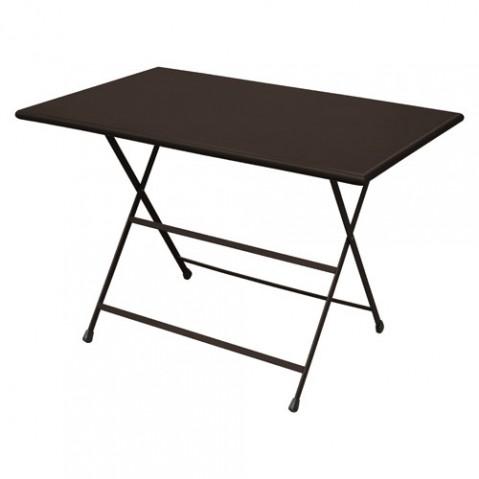 table pliante arc en ciel 110 emu bronze