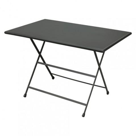 table pliante arc en ciel 110 emu fer ancien