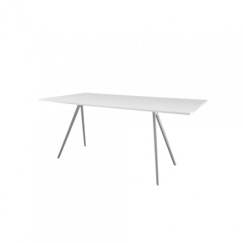 table baguette magis blanc 160