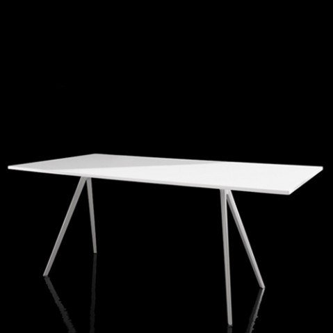 table baguette magis blanc 205