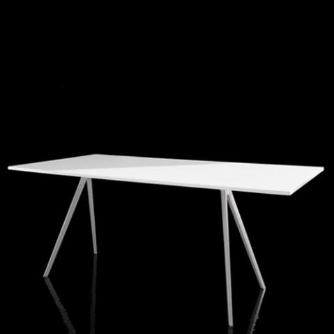 table baguette magis blanc 160