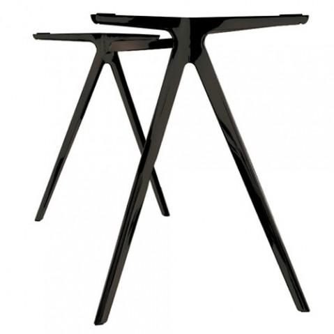 table bagiuette magis noir 160