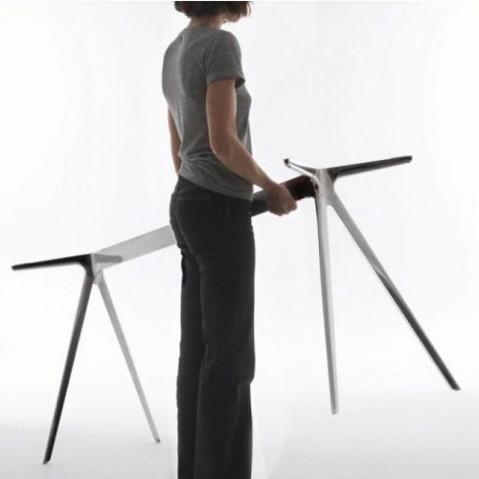 table baguette magis verre 160