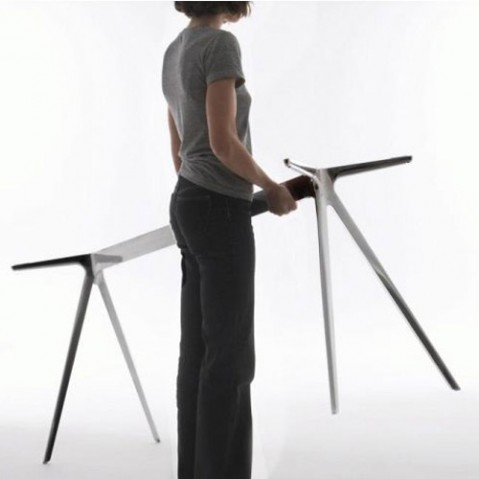 table baguette 205 magis verre