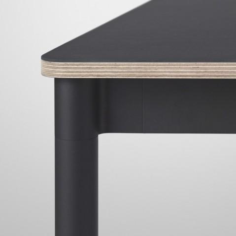 table base 250 muuto noir contreplaque