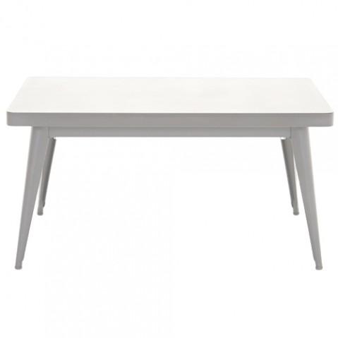table basse 55 tolix blanc