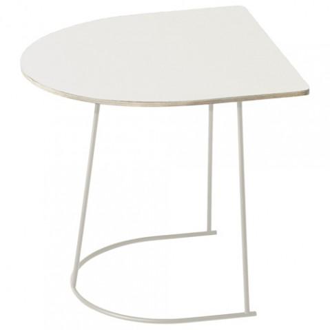 table basse airy half size muuto blanc
