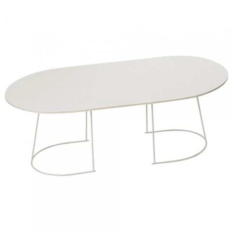 table basse airy large muuto blanc