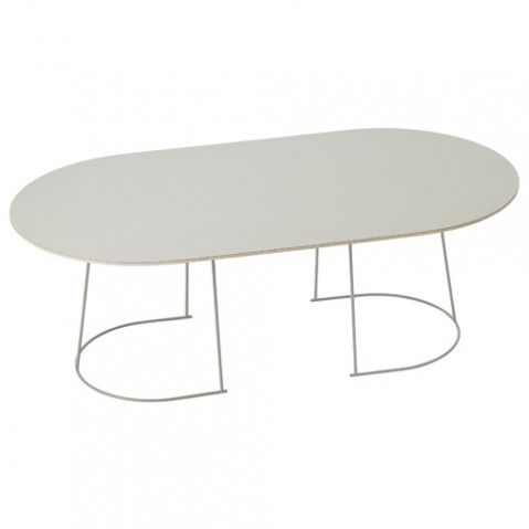 table basse airy medium muuto gris