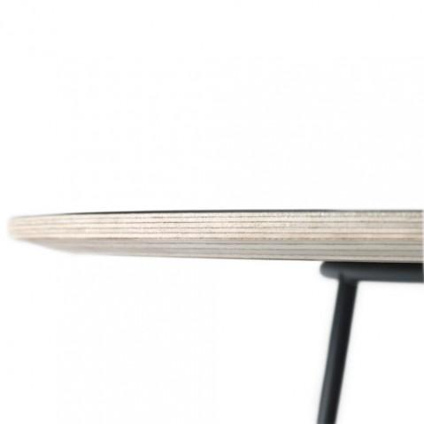 table basse airy half size muuto noir
