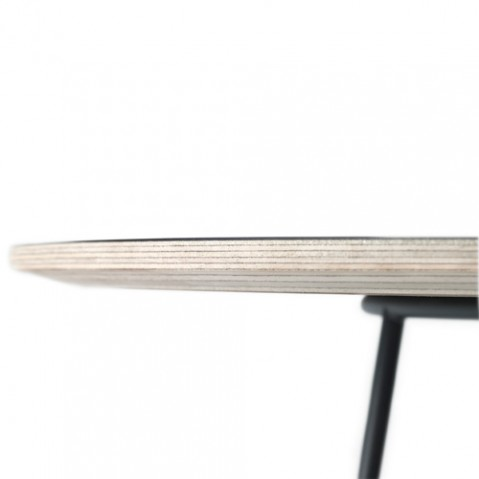 table basse airy half size muuto blanc
