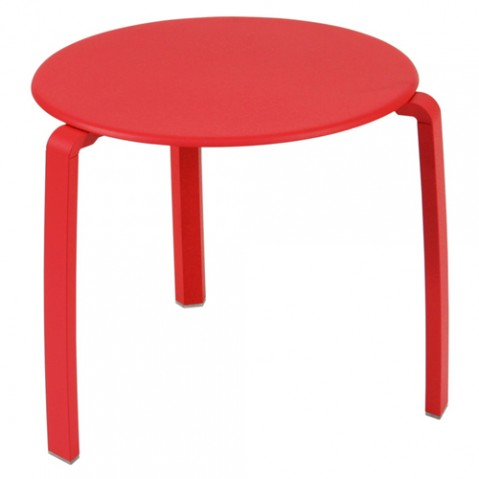table basse alize fermob coquelicot
