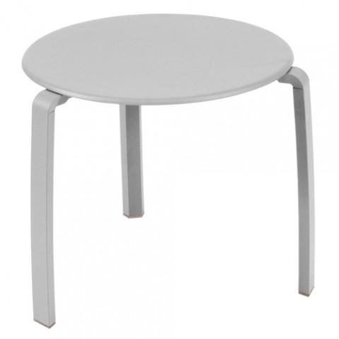 table basse alize fermob gris metal