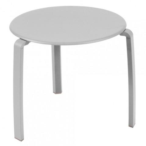 table basse alize fermob gris metal