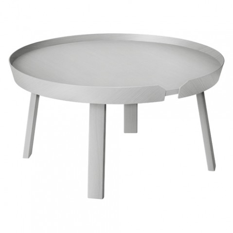 table basse around large muuto gris