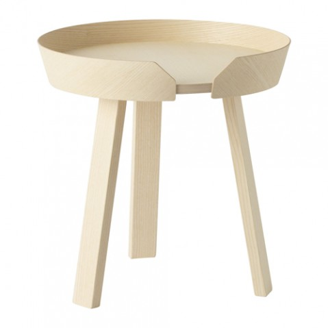 table basse around small muuto frene