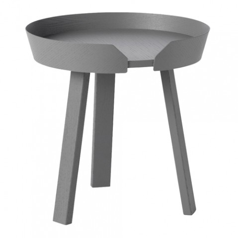 table basse around small muuto gris fonce