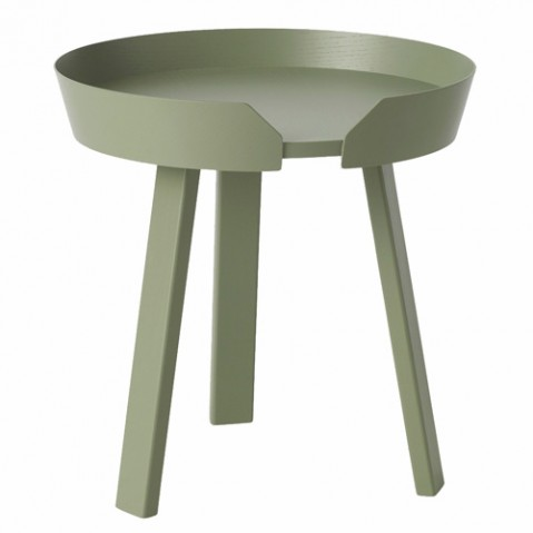 table basse around small muuto vert