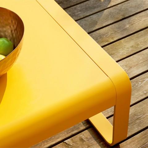 table basse bellevie fermob rouille