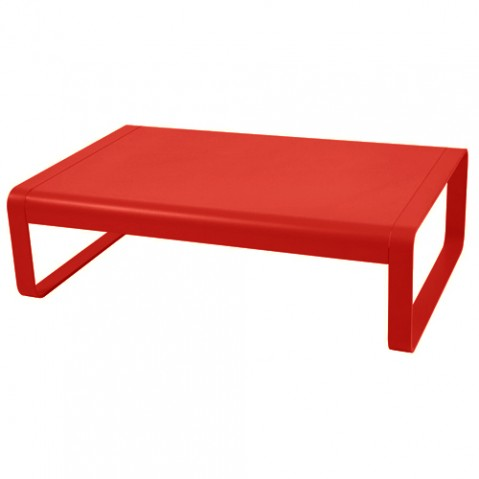 table basse bellevie fermob coquelicot