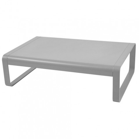 table basse bellevie fermob gris metal