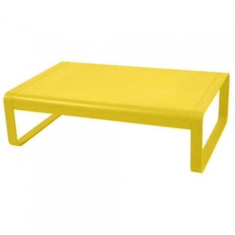 table basse bellevie fermob miel