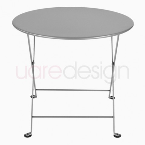table basse tom pouce fermob gris metal
