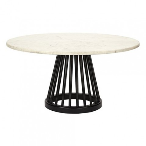 table basse fan tom dixon 90 noir