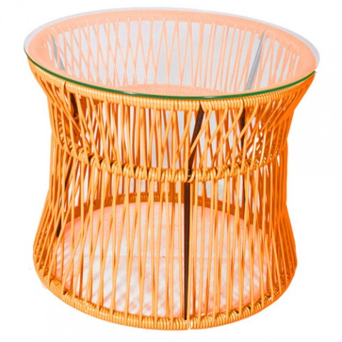table basse ita boqa orange
