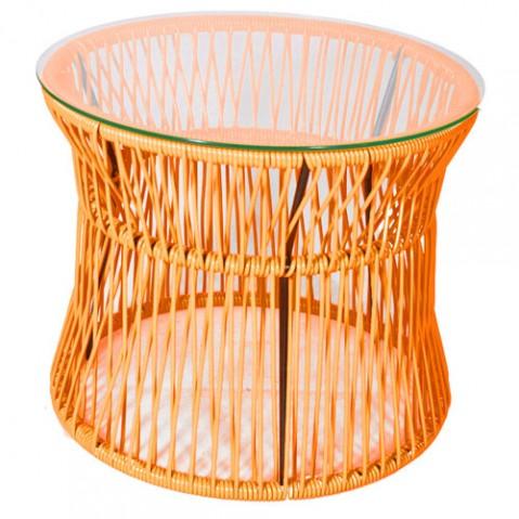 table basse ita boqa orange