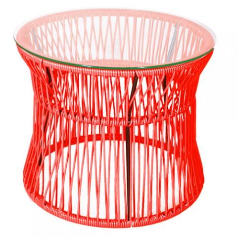 table basse ita boqa rouge