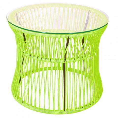 table basse ita boqa vert anis