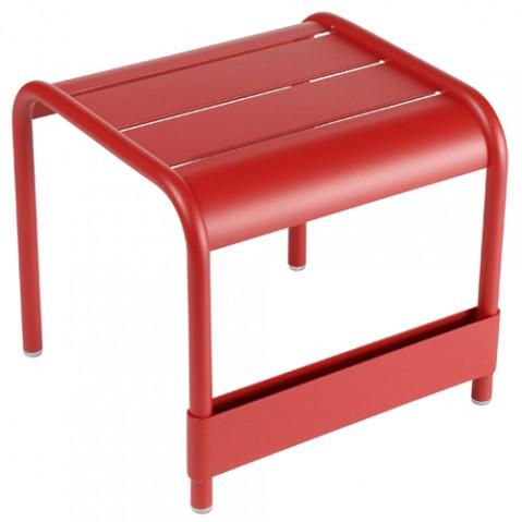 Luxembourg Petite Table Basse Design Fermob Coquelicot