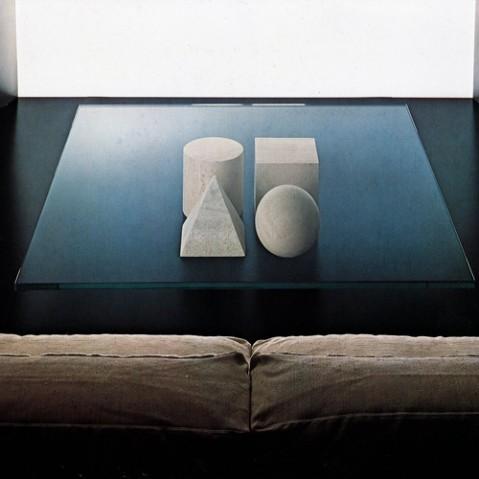 table basse metafora martinelli luce travertin