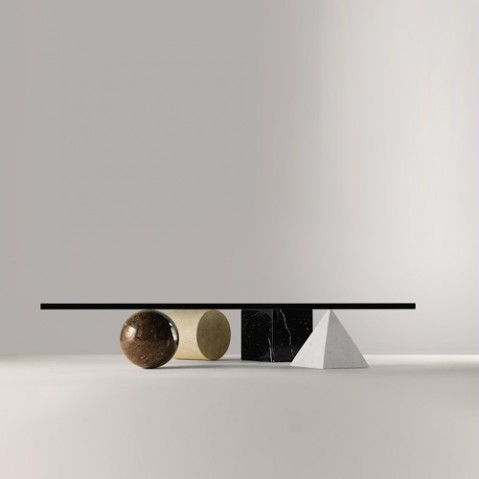 table basse metafora martinelli luce noir
