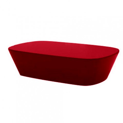 table basse sabinas vondom rouge