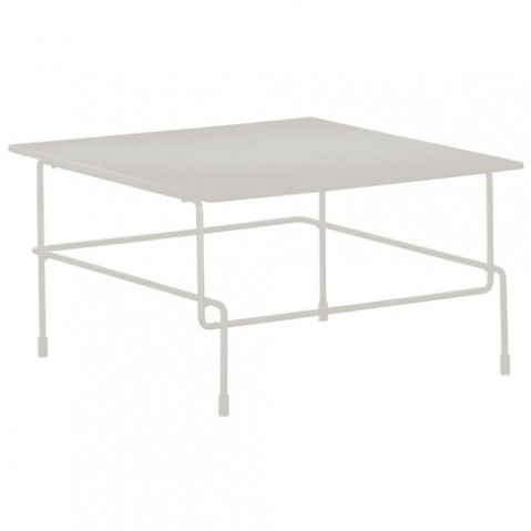 table basse traffic outdoor magis blanc