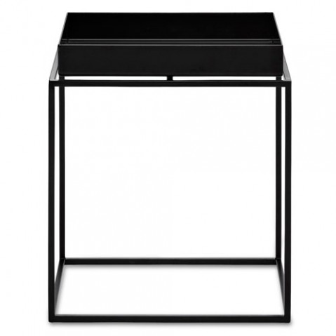 table basse tray 30 30 hay noir