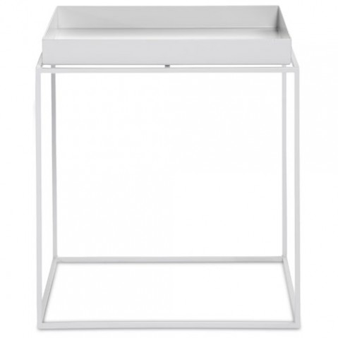 table basse tray 40 40 hay blanc