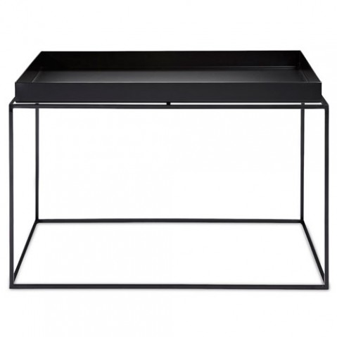 table basse tray 60 60 hay noir
