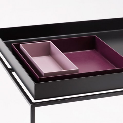 table basse tray 40 60 hay noir