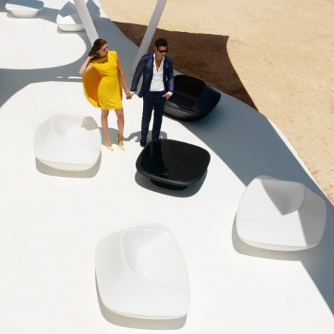 table basse ufo vondom blanc