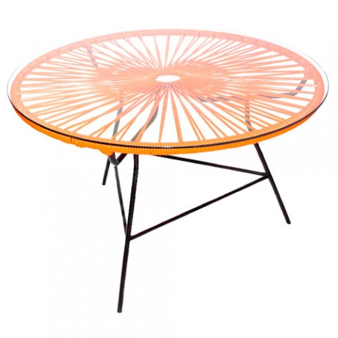 table basse zipolite boqa orange